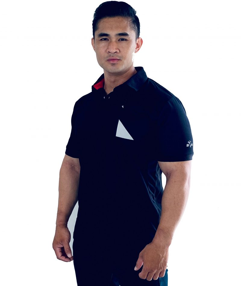 Black Hammer Polo Shirt DP0233