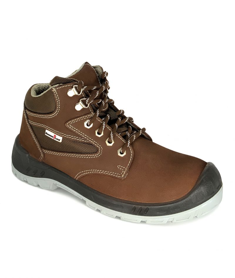 Hammerland Mid Cut Safety Shoes Brown BH2018-773