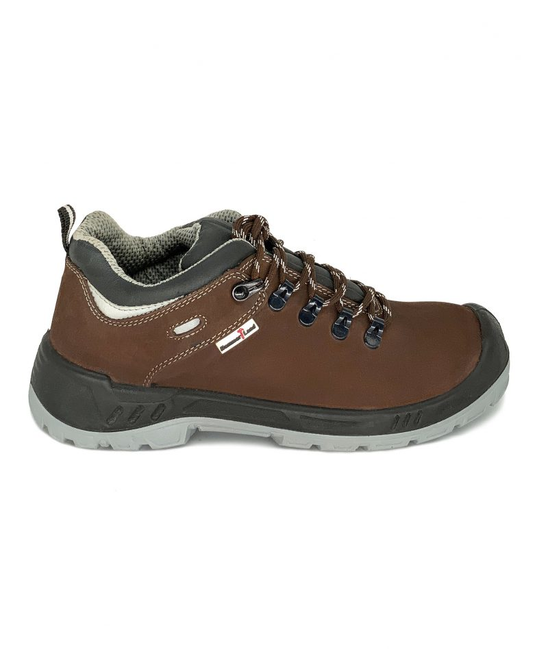 Hammerland Mid Cut Safety Shoes Brown BH2018-794