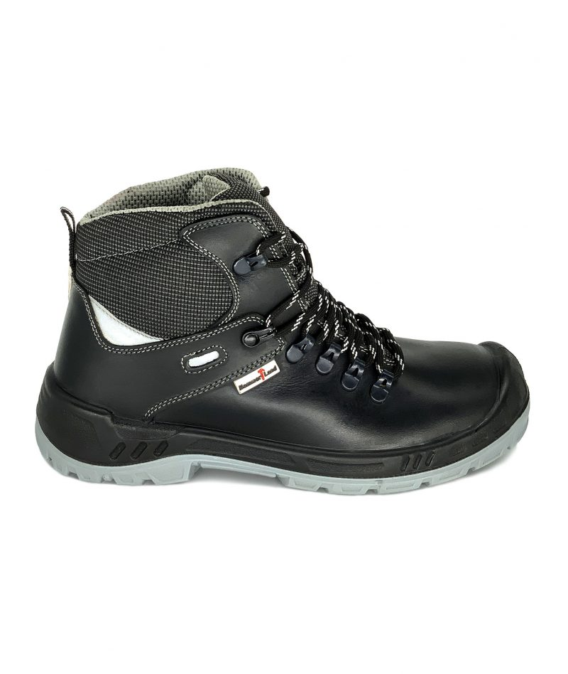 Hammerland Mid Cut Safety Shoes Black BH2018-795