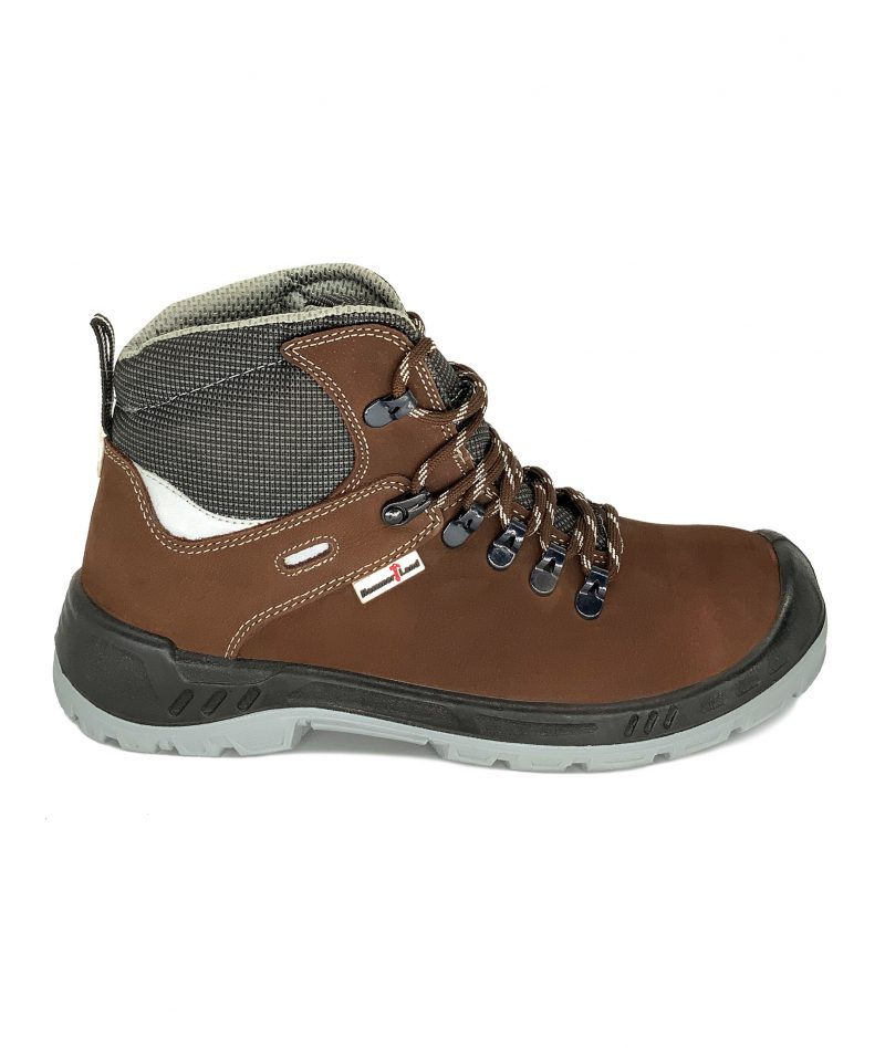 Hammerland Mid Cut Safety Shoes Brown BH2018-795