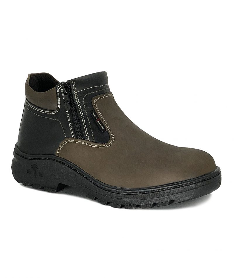 2000 Series Mid Cut Zip On Safety Shoes BH2333