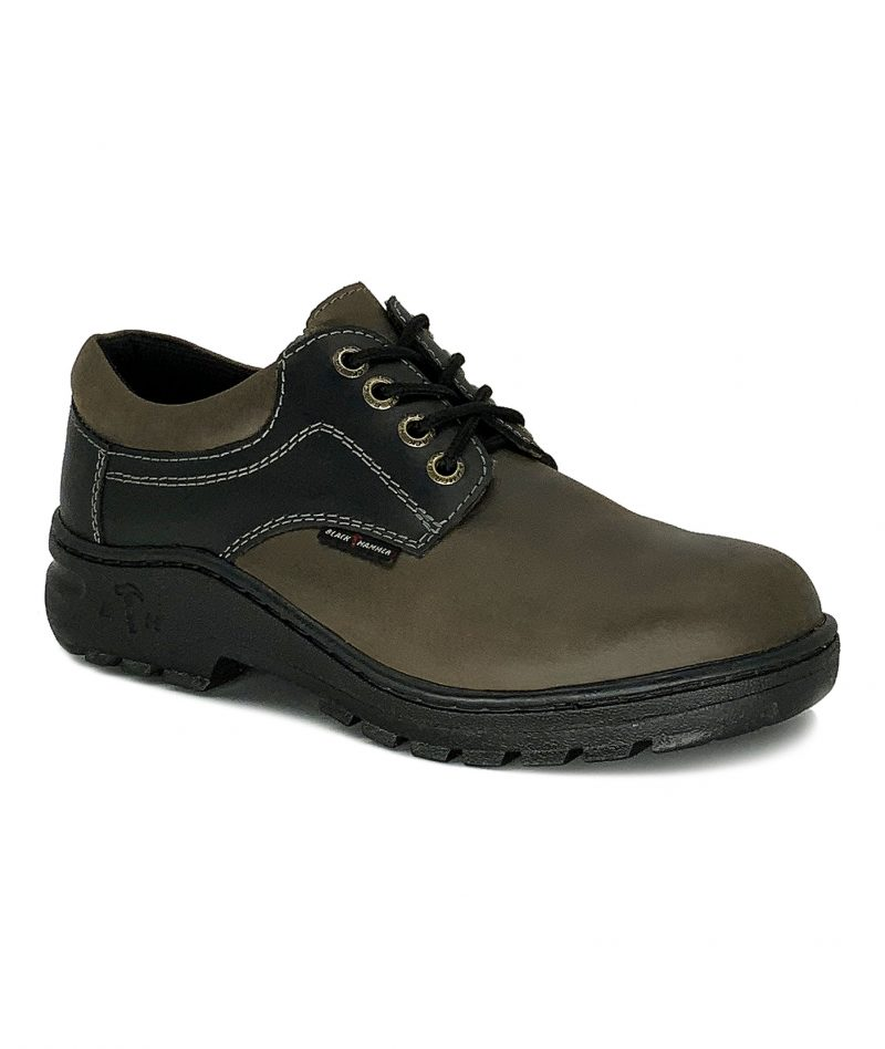 2000 Series Low Cut with Shoelace Safety Shoe Khaki/Black BH2886