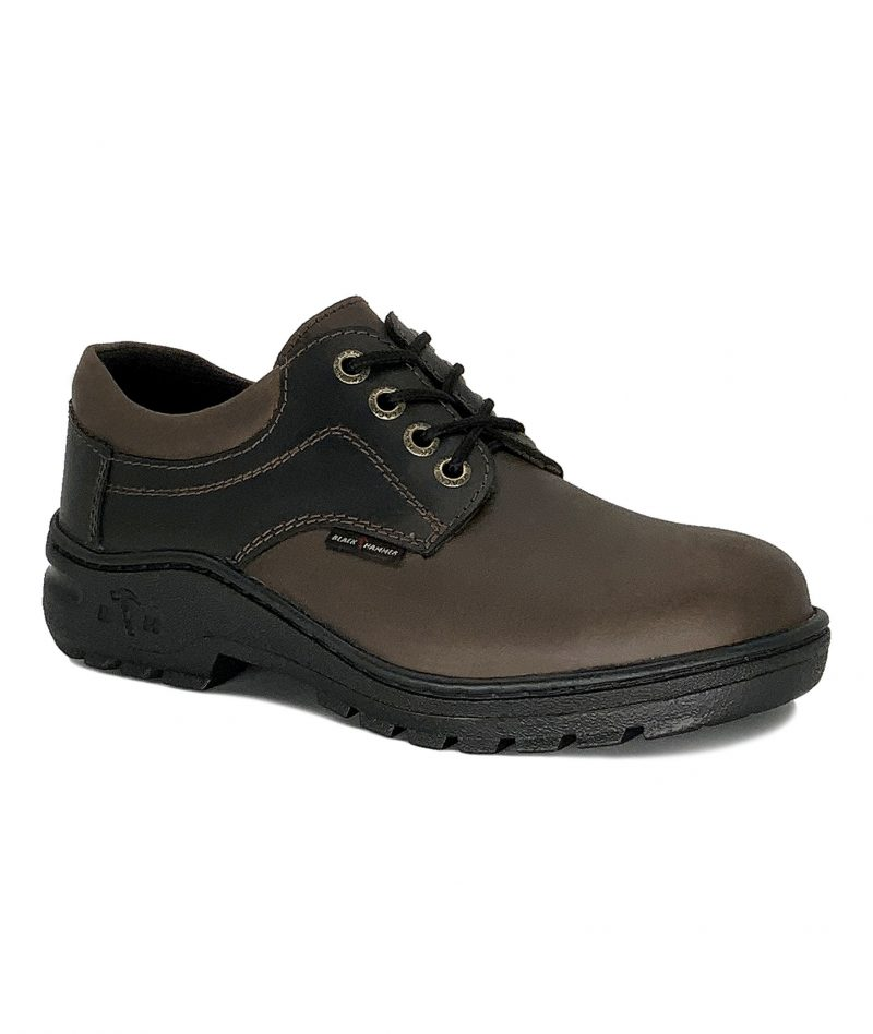 2000 Series Low Cut with Shoelace Safety Shoe Brown/Black BH2886