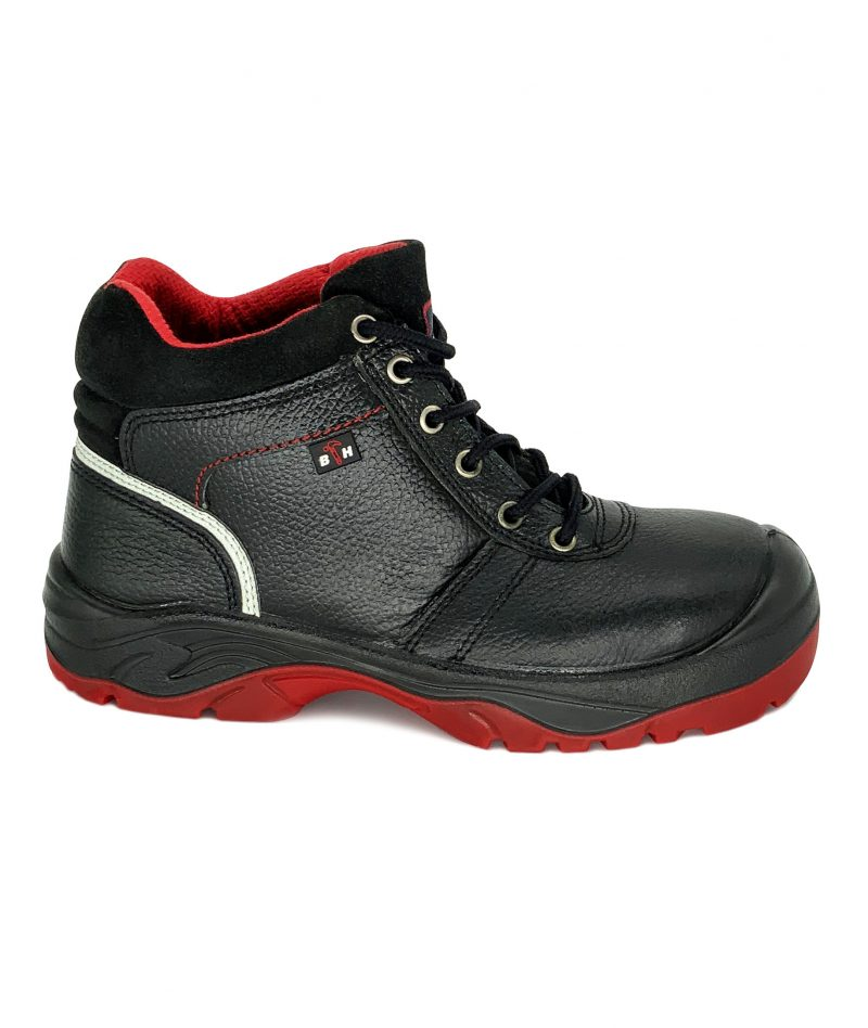 Black Hammer Mid Cut with Shoelace BH2992-286
