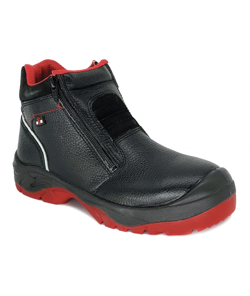 4000 Series Mid Cut with Double Zip Safety Shoe BH4102