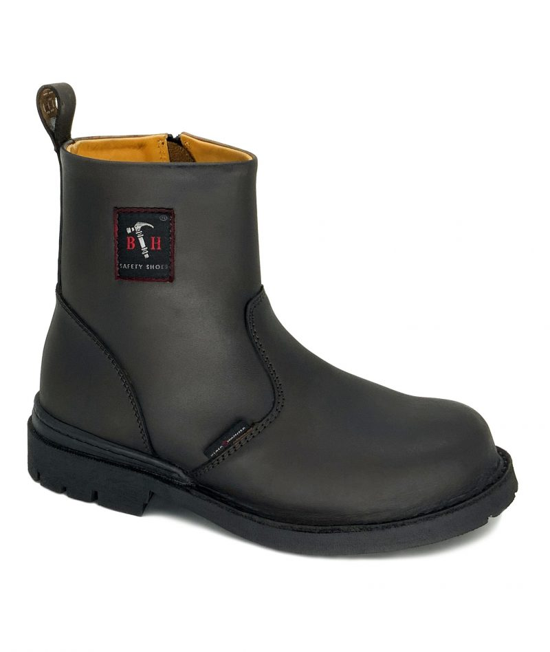 4000 Series Full Leather Mid Cut Safety Shoes BH4664(L)