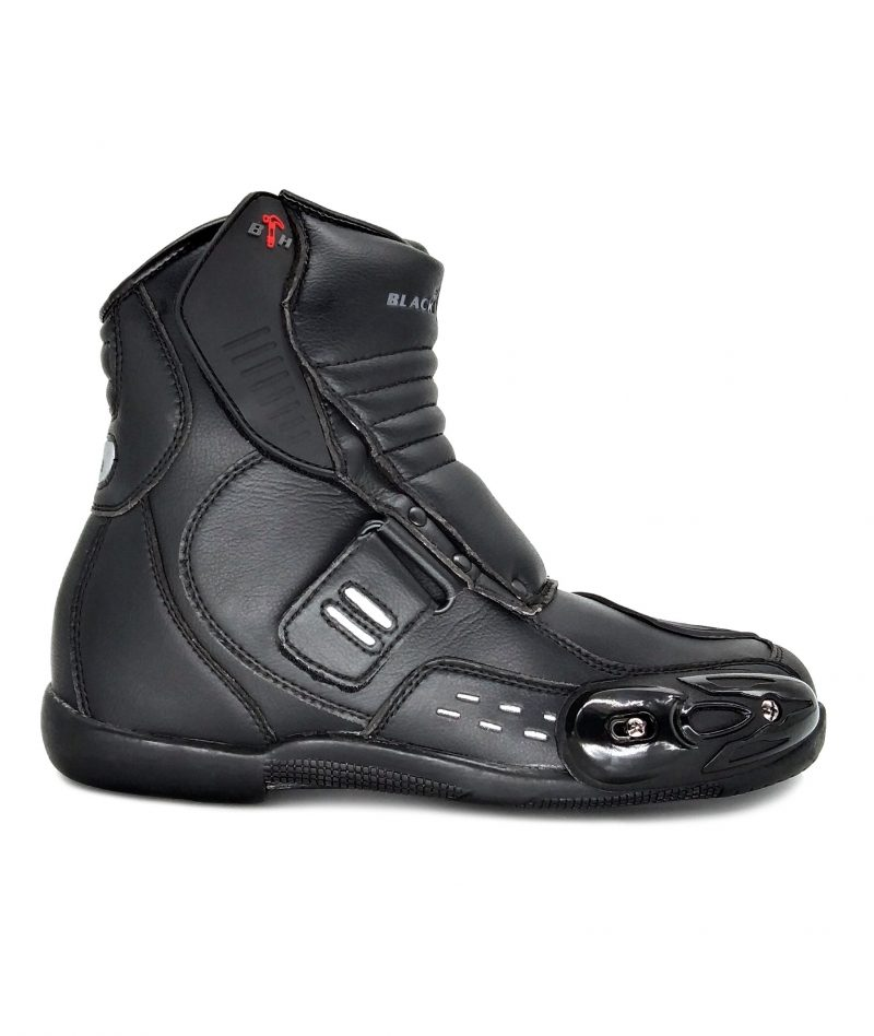 Black Hammer Motor Boot Mid Cut BHB-6006