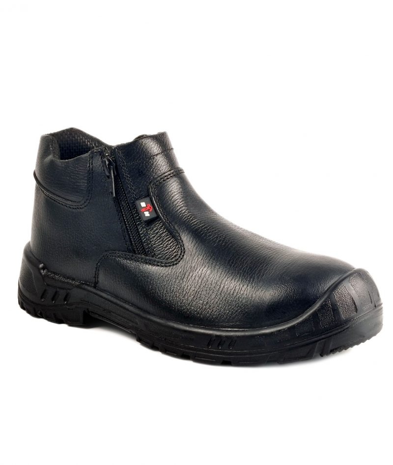 Black Hammer Mid Cut Safety Shoe BH93-779