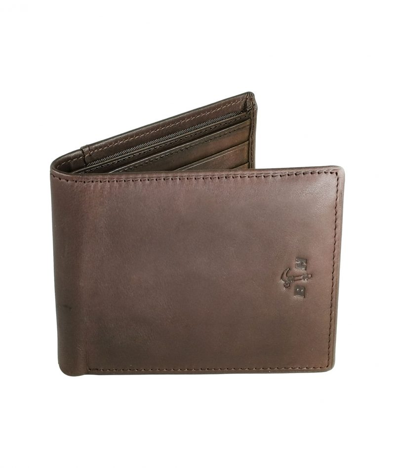 Black Hammer Fold Over Wallet Without Flip BHW001-A