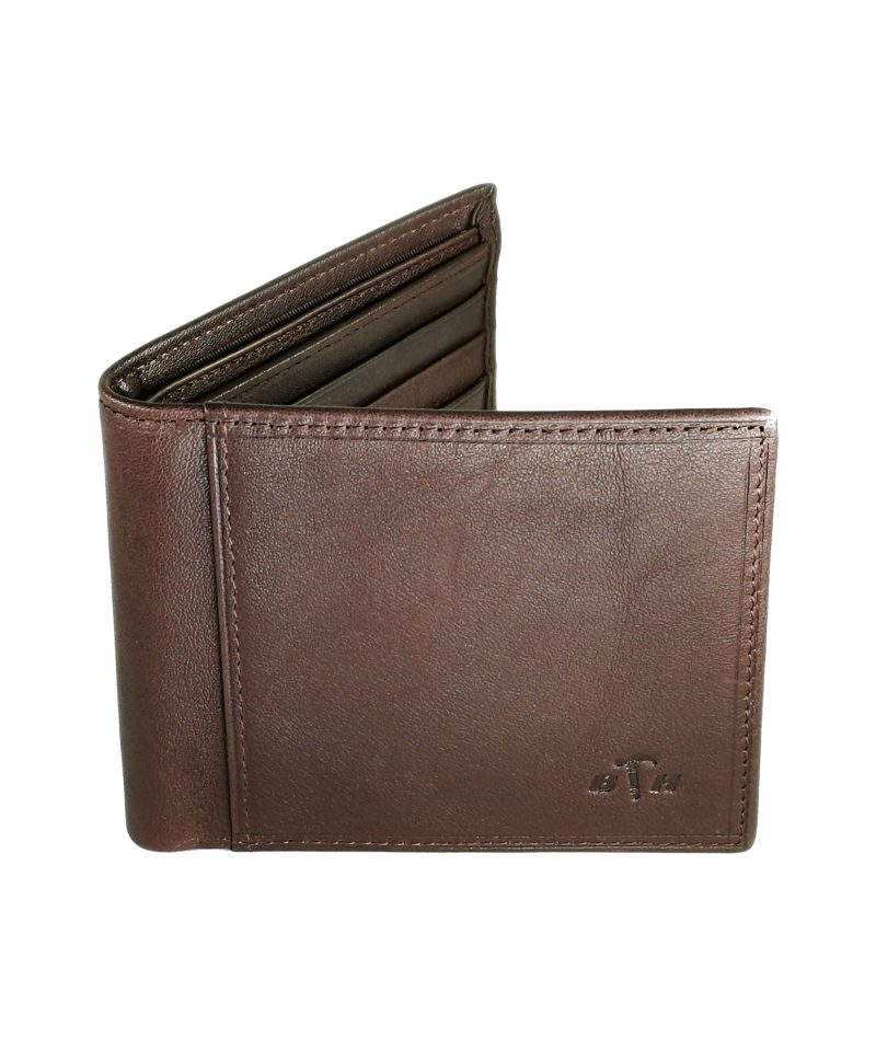 Black Hammer Fold Over Wallet Without Flip BHW001-B