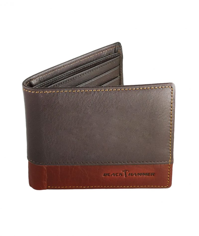 Black Hammer Fold Over Wallet With Flip BHW002-C