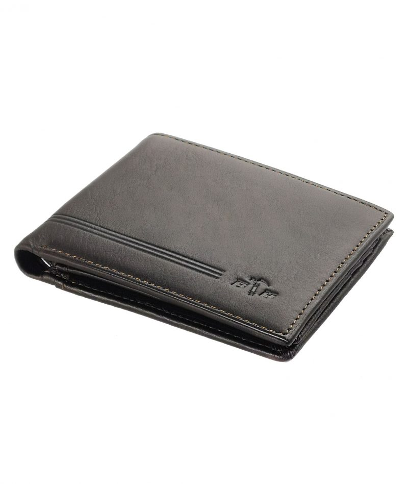Black Hammer Fold Over Wallet With Flip BHW002-A