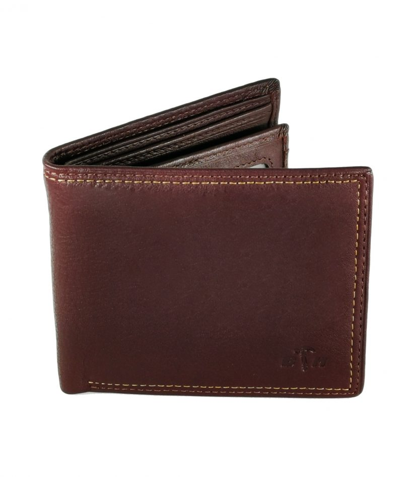 Black Hammer Fold Over Wallet With Flip BHW002-B