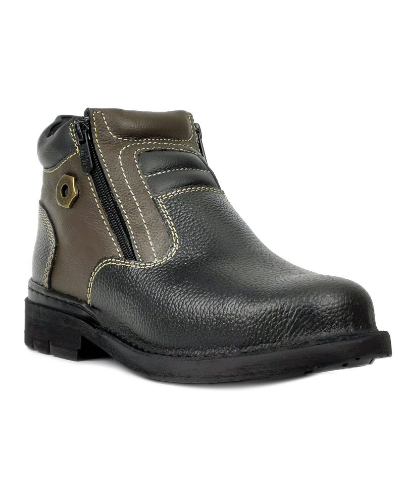 4000 Series Mid Cut with Double Zip Safety Shoe BH4891