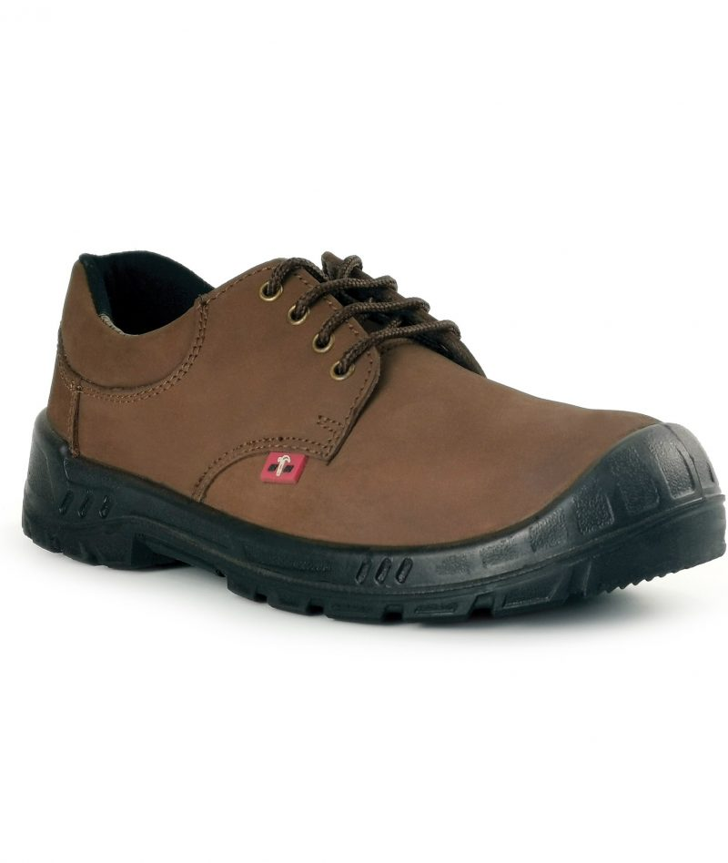 Black Hammer Men Low Cut With Shoelace Safety Shoe BH91-778
