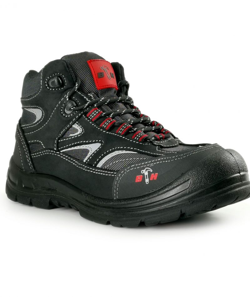 Hammerland Mid Cut with Single Zip Safety Shoes HL-TW4101