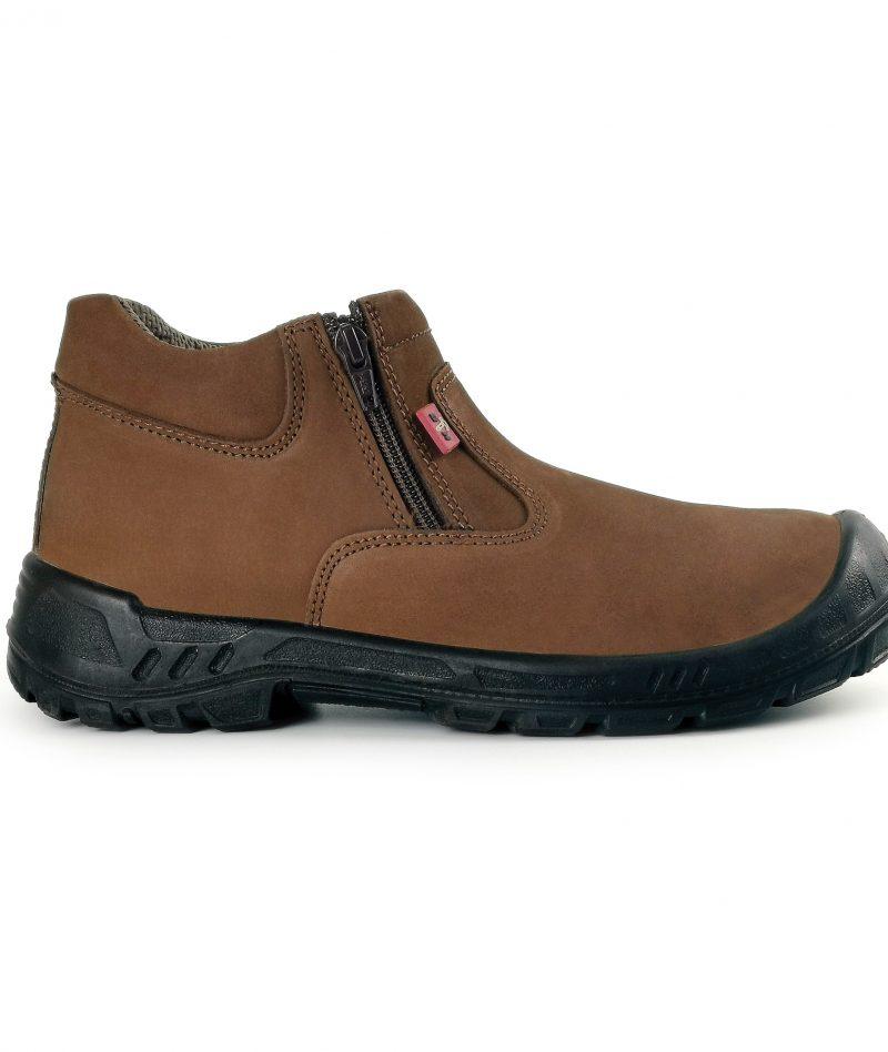 Black Hammer Men Mid Cut Safety Shoe BH93-779