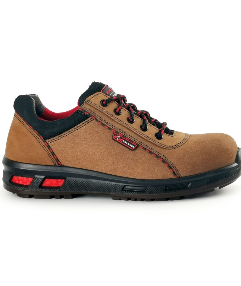 Black Hammer Men Low Cut with Shoelace Safety Shoes BH2016-006