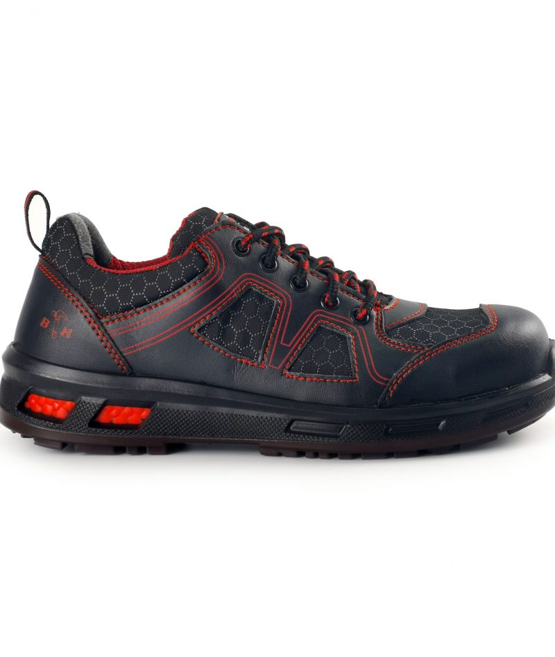 Black Hammer Men Sport Series Low Cut Safety Shoes BH2016-007