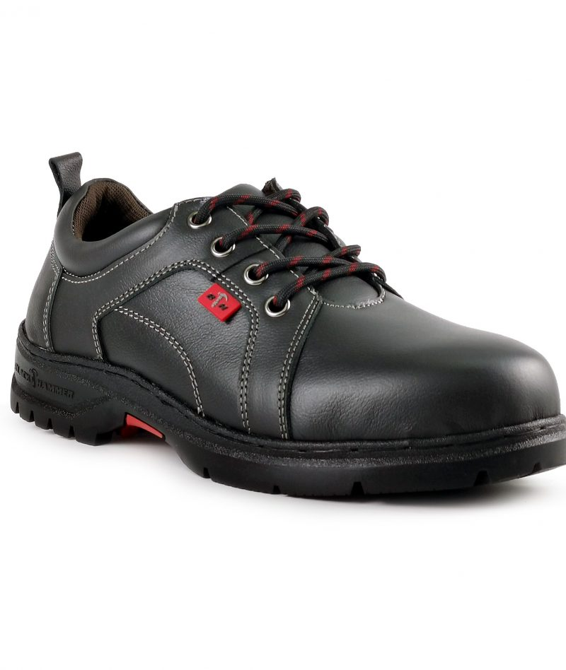 Black Hammer Ladies Low Cut With Shoelace Safety Shoe BH3887