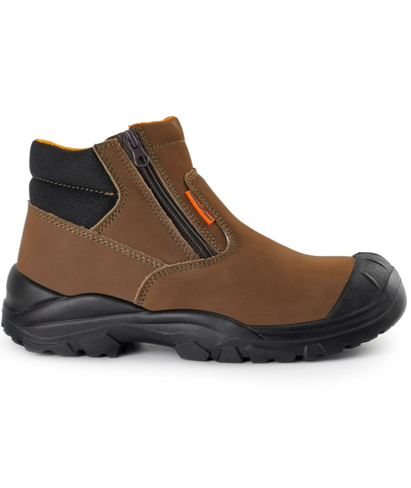 Hammerland Low Cut Safety Shoes Brown BH2018-794